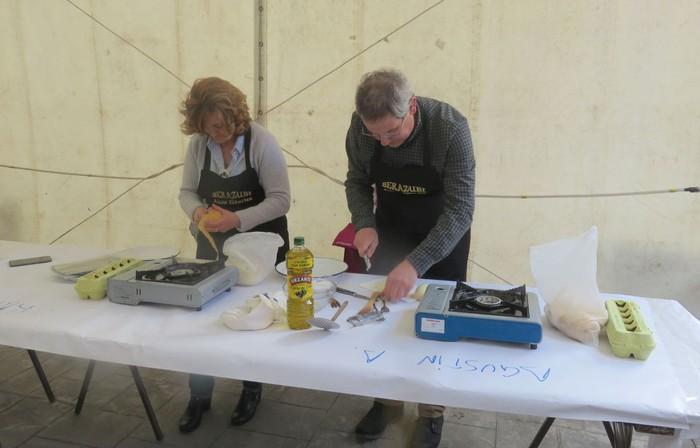 14 lehiakide, Gastronomikako tortilla patata lehiaketan - 5