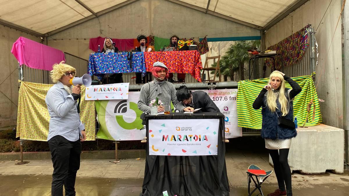«Hauster eguneko burukomina dugu maratoi solidarioko ardatza»