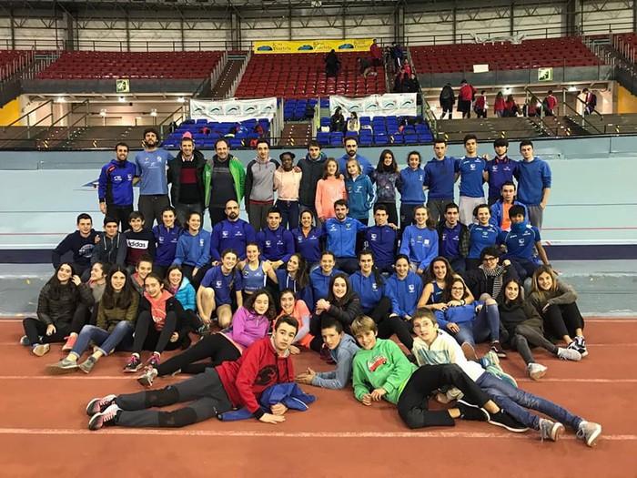 8 domina lortu ditu Tolosa CF Atletismo taldeak Gipuzkoako Txapelketan