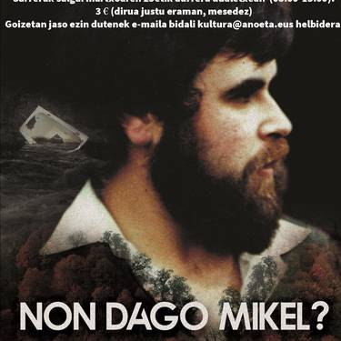 'Non dago Mikel?' dokumentalaren proiekzioa