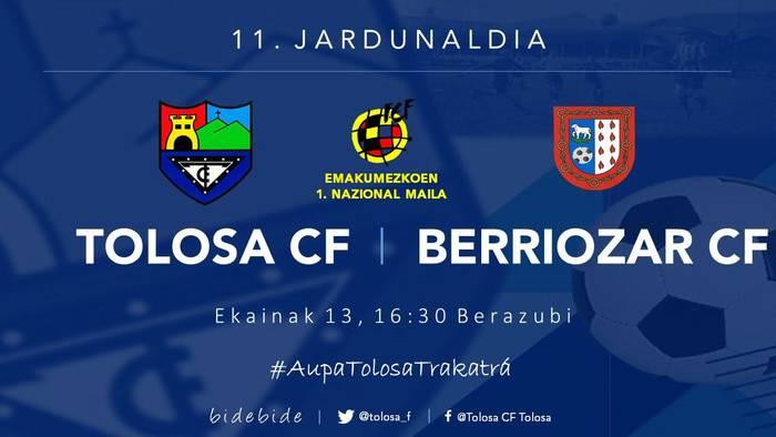 TOLOSA CF - BERRIOZAR CF