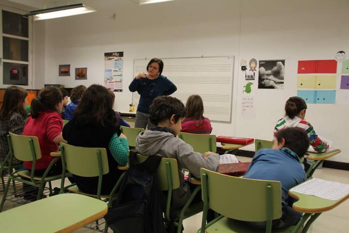 Eduardo Mocoroa musika eskolan matrikulatzeko epea, zabalik