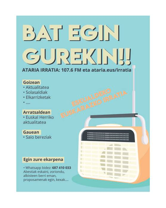 Bat egin gurekin!