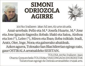 Simoni Odriozola Agirre