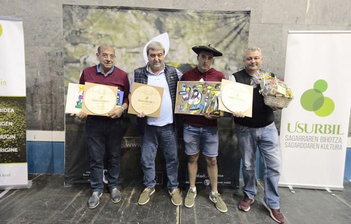 Aburuza Sagardotegia, bigarren Euskal Herriko Sagardo Txapelketa Herrikoian