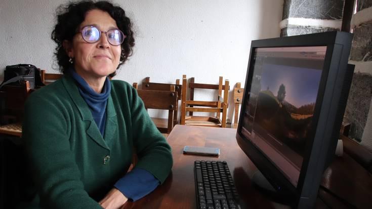 «Dimentsio osoa irudikatu nahi dut argazkiekin»