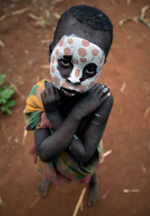 Surma tribuko umea (Etiopia)