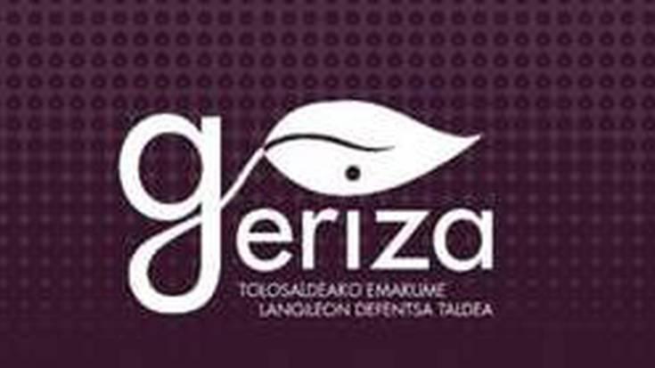 Geriza taldea: antolakunde berria