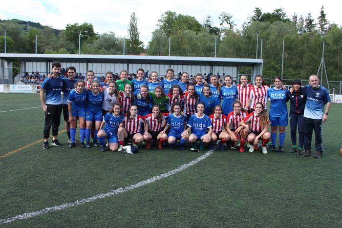 Athletic B nagusi Usabalen, 0-3