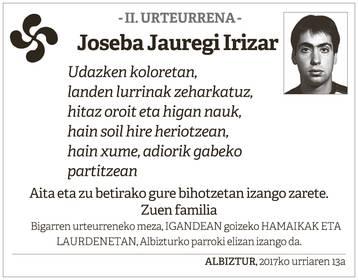 Joseba Jauregi Irizar