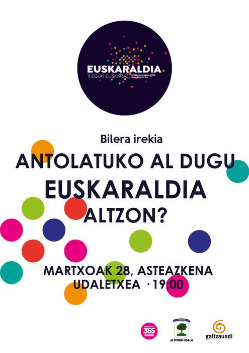 EUSKARALDIA ALTZON