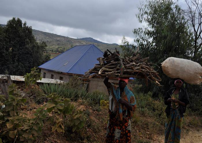 Tanzaniako goizetako lanak.
