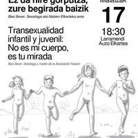 Hitzaldia: haur eta gazteen transexualitatea