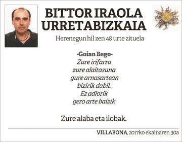 Bittor Iraola Urretabizkaia