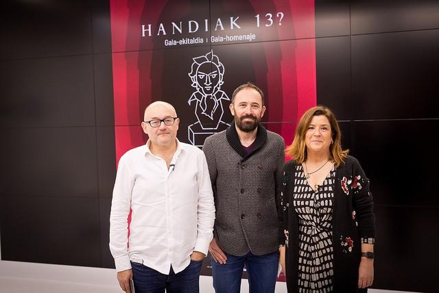 'Handia' filmari babesa emango diote Donostiatik Goya sarietan