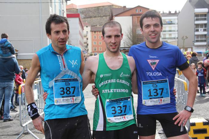 Iñaki Olano eta Nerea Amilibia, berriro ere podiumean
