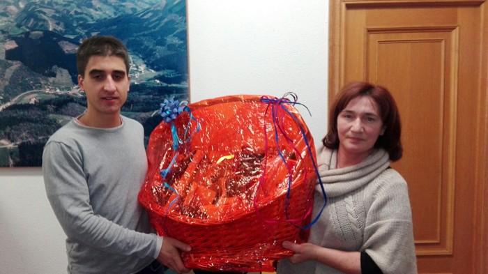 Jon Fernandez de Antonak irabazi du udalaren saskia
