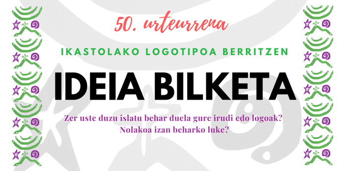 Ideia bilketa - Logoa berritzen