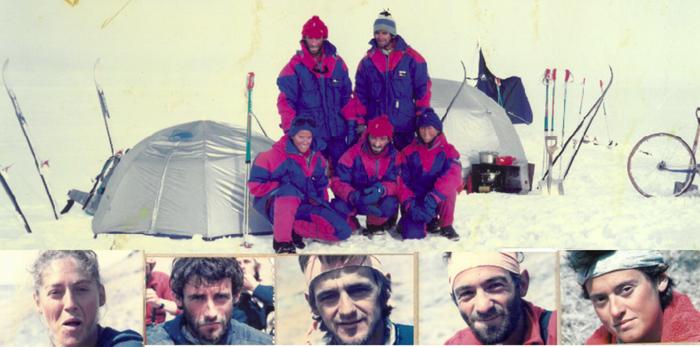 Groenlandia 88 espedizioa: muturreko bidaia bat gogora ekarriz