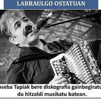 Hitzaldi musikatua Joseba Tapiarekin