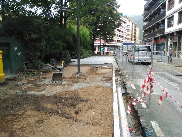 Trafiko aldaketak Nafarroa etorbidean