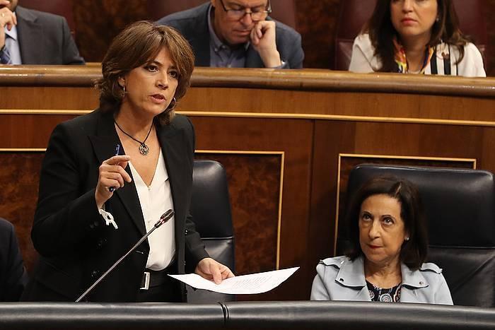 Espainiako gobernuaren lehen urratsak