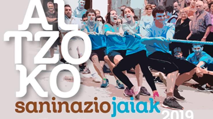 Altzoko jaiak 2019