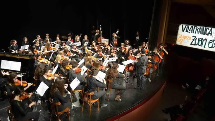 Loatzo musika eskolako ikasleek elkartrukea egingo dute Katalunian