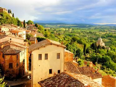 Toscana, udan nahiz neguan ederra