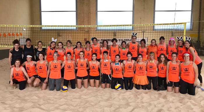 10 talde ariko dira lehian hondartza boleibol txapelketan