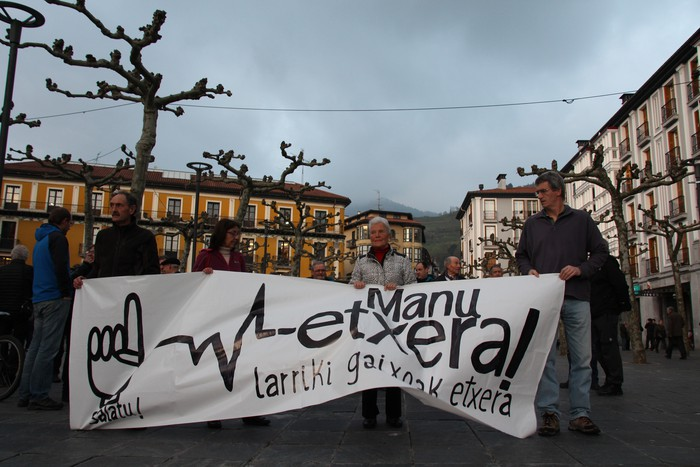 Madrilek hurbilduko dituen presoen artean legoke Manu Azkarate