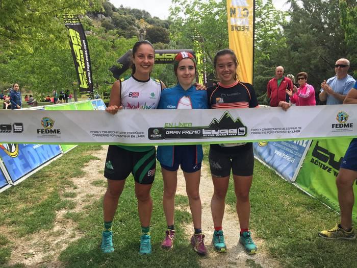 Ane Iturriak La Sagra Skyrace mendi lasterketa irabazi du Granadan