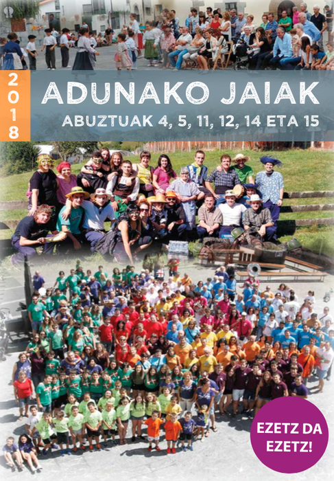 Adunako Jaiak 2018