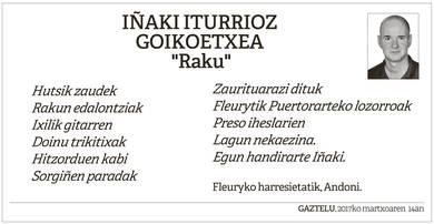 Iñaki Iturrioz Goikoetxea