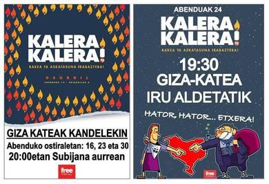 """Bat egiten dugu """"Kalera Kalera"""" ekimenak egin dituen deialdiekin"""