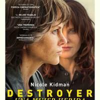 Zinema: 'Destroyer. Una mujer herida'