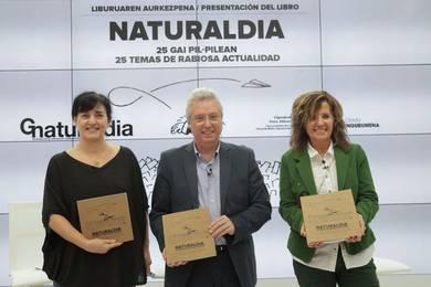 Tolosako Naturaldia omentzeko liburu bat argitaratu du Gipuzkoako Foru Aldundiak