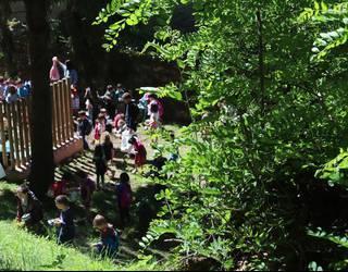 Elosegi parkeko biodibertsitatea ezagutu eta aztertu dute Tolosako 210 ikaslek