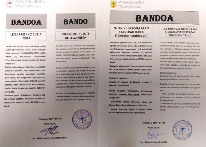 Amasa-Villabonako udal gobernuaren oharra, EAJ-PNV alderdiak publikoki egindako salaketari erantzunez