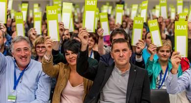 Euskal Herria Bilduk Euskal Herrirako burujabetza prozesu bat aldarrikatu du bere lehen Konferentzia Politikoan