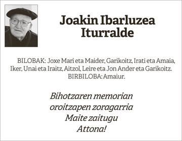 Joakin Ibarluzea Iturralde