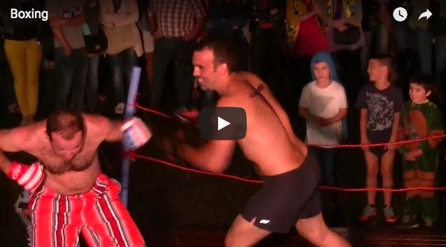 Boxeo borroka Zizurkilgo jaietan
