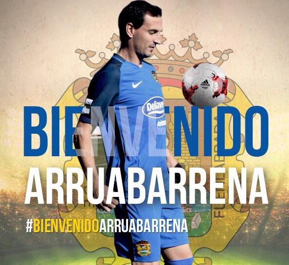 Mikel Arruabarrena fitxatu du Fuenlabradak