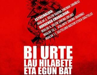 'Bi urte, lau hilabete eta egun bat' dokumentala, bihar, Gaztelun