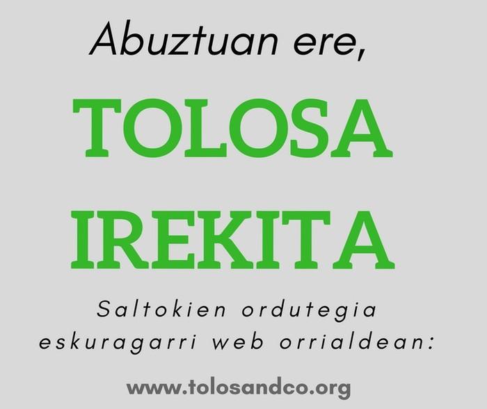 Abuztuan ere, TOLOSA IREKITA