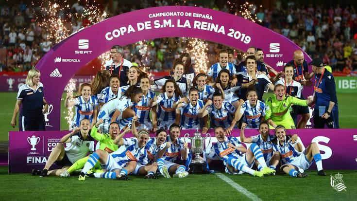 Nerea Eizagirrek Espainiako kopa irabazi eta historia egin du Realarekin