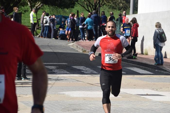 Hassan Ait Chaou eta Maite Etxezarreta garaile - 100