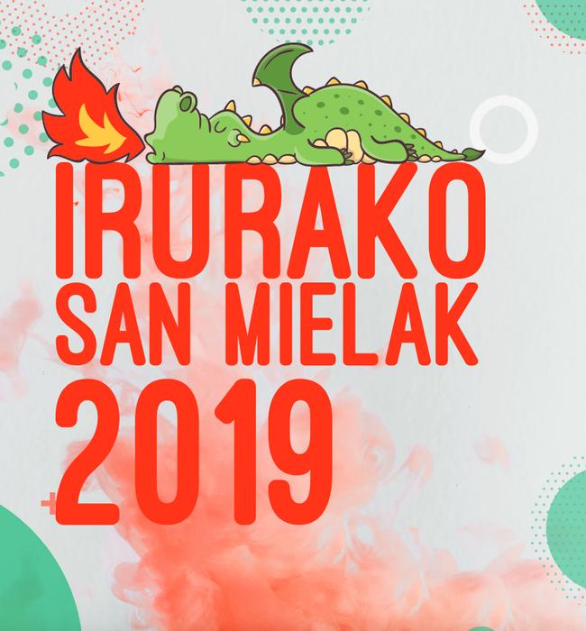 Irurako Sanmielak 2019, jubilatuen eguna