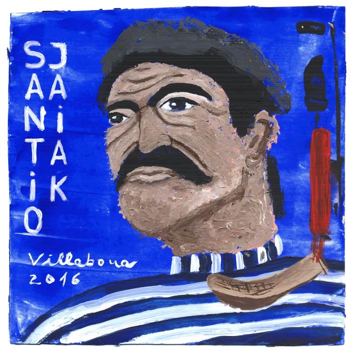 Santio jaien programako azala aukeratzeko lehiaketa, martxan