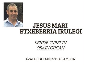 Jesus Mari Etxeberria Irulegi